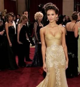 Oscar Post-Party Fug: Jessica Alba