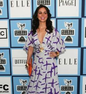 Independent Spirit Awards Fug Carpet: Eliza Dushku
