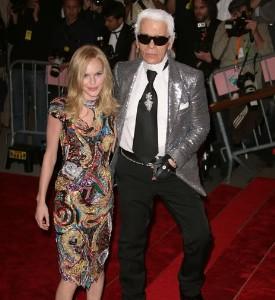 Met Ball Fug Carpet: Kate and Karl