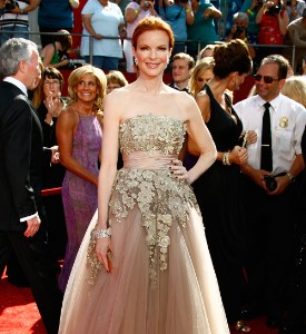 Emmy Awards Fug Carpet: Marcia Cross