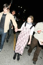 Drew Barrymore & Justin Long Leave a Green Day Concert at the Henry Fonda Theatre on Hollywood Blvd in Hollywood, CA
