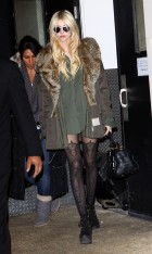 Taylor Momsen visits 'It's On With Alexa Chung' in NYC