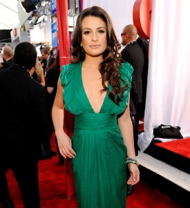 SAG Awards Well Played: Lea Michele
