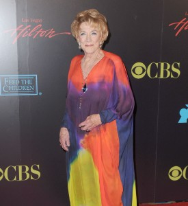 Daytime Emmy Awards Fug Carpet: Jeanne Cooper
