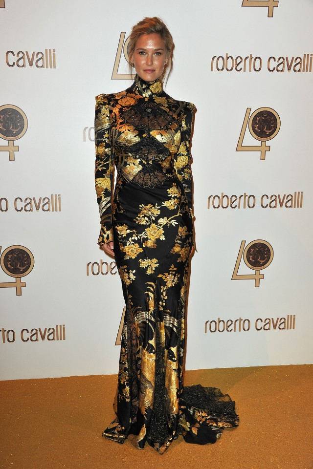 Roberto Cavalli Party - Inside Photocall PFW Ready To Wear S/S 2011