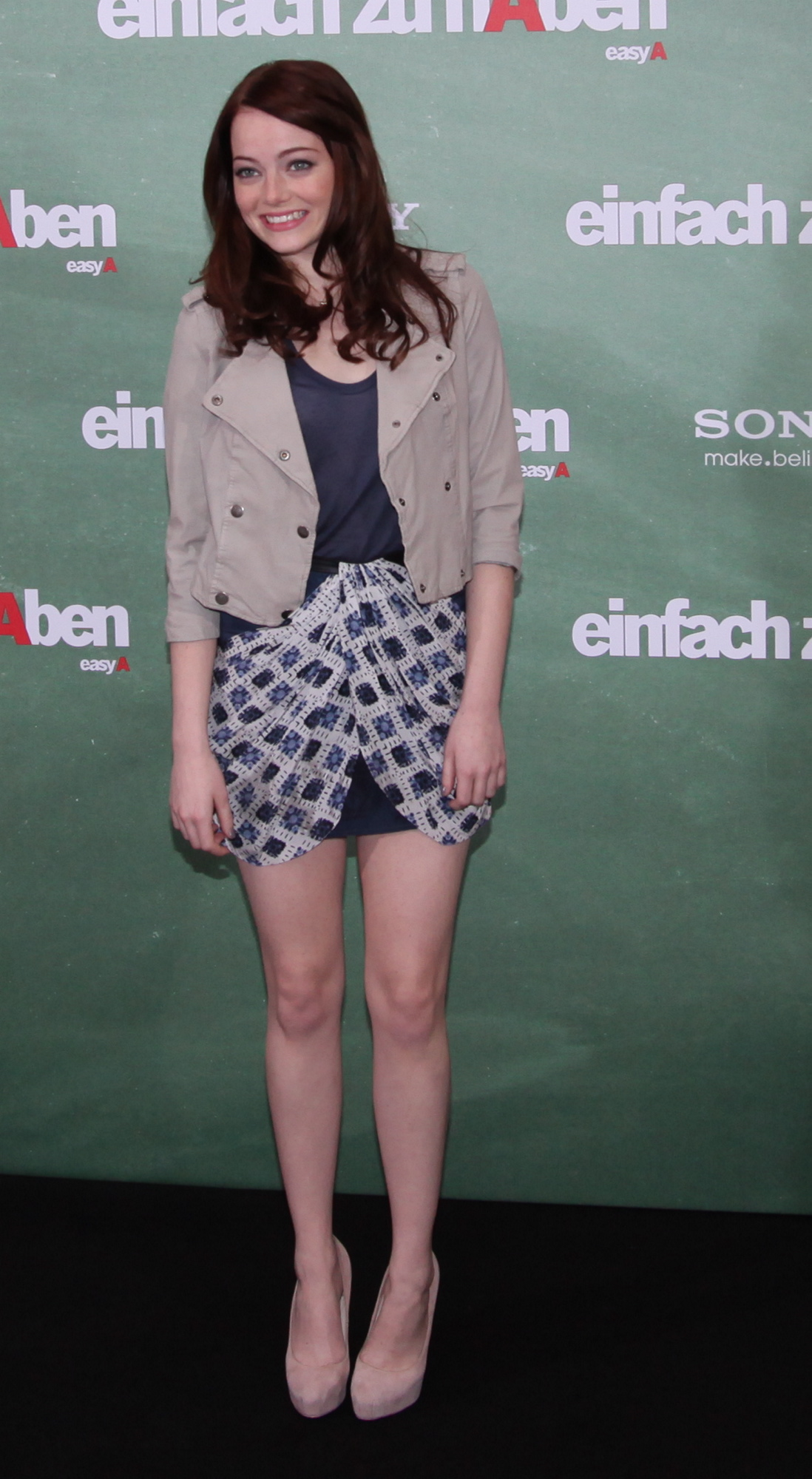 Emma Stone Photocall Berlin To have Simply