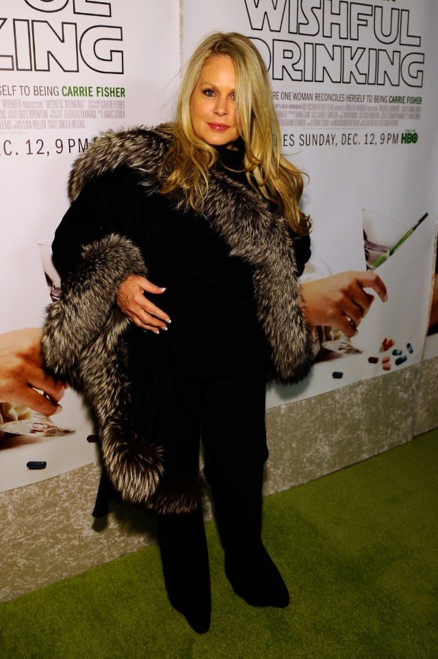 """Beverly D'Angelo at the """"Wishful Drinking"""" premiere"""