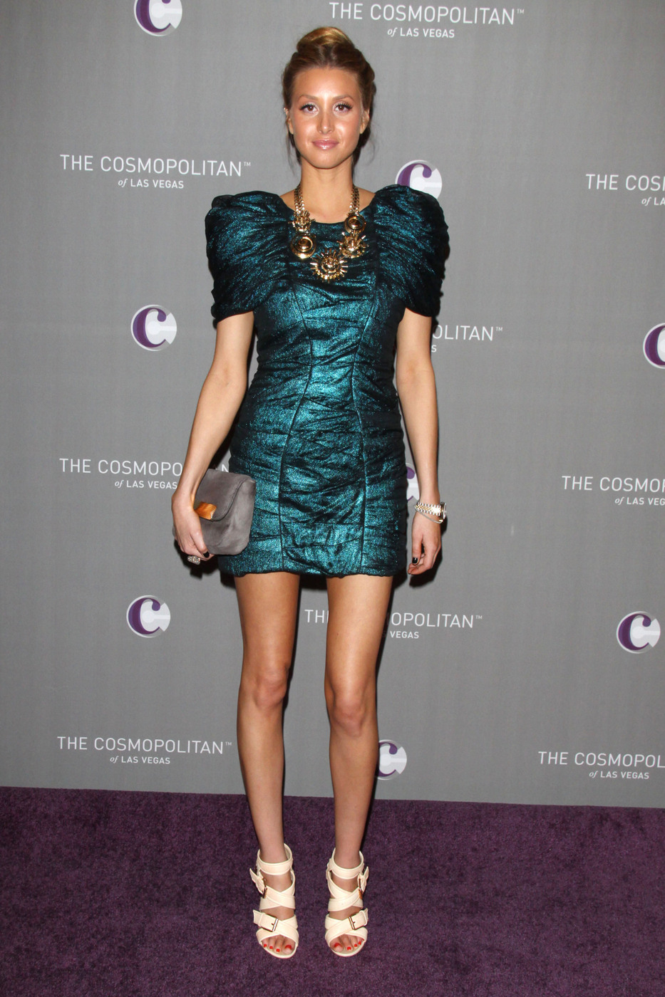 Whitney Port at The Cosmopolitan hotel New Year's Eve celebration in Las Vegas