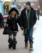 SEMI-EXCLUSIVE: Jessica Simpson And Eric Johnson Out For A New Year's Eve Dinner