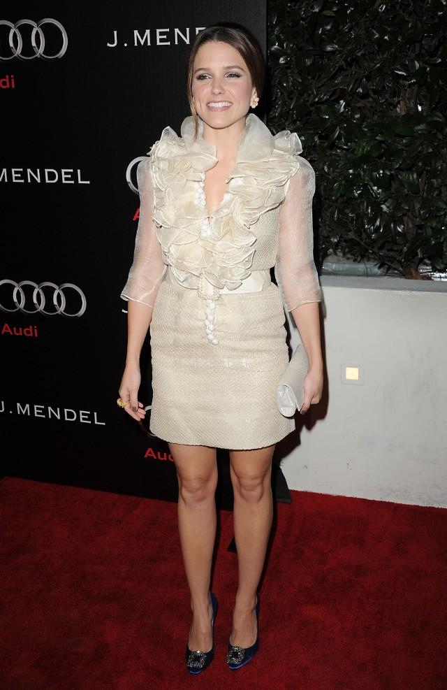 Audi And J. Mendel Celebrate The 2011 Golden Globe Awards