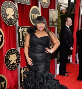 SAG Awards Fug or Fab Carpet: Amber Riley