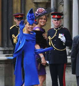 Royal Wedding Fug: Tara Palmer-Tomkinson