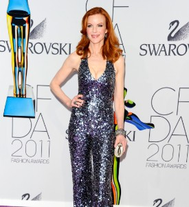 CFDA Gala Fug Carpet: Marcia Cross