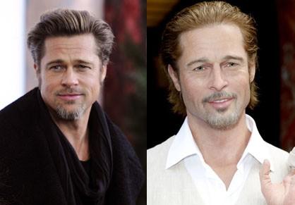 Brad Pitt and Waxwork