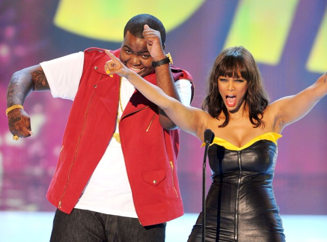 Tyra Banks and Sean Kingston