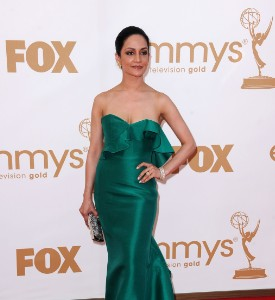Emmy Awards Fug Carpet: Archie Panjabi