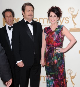 Emmy Awards Well Played: Megan Mullally, with an assist from Ron Swanson and Brian Grazer