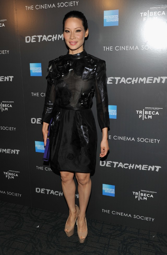 Premiere Of Tribeca Film's Detachment Hosted By American Express & The Cinema Society - Arrivals