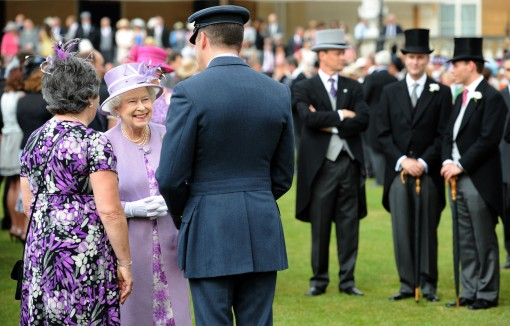 Queen Elizabeth II Hosts A Garden Party At Buckingham Palace