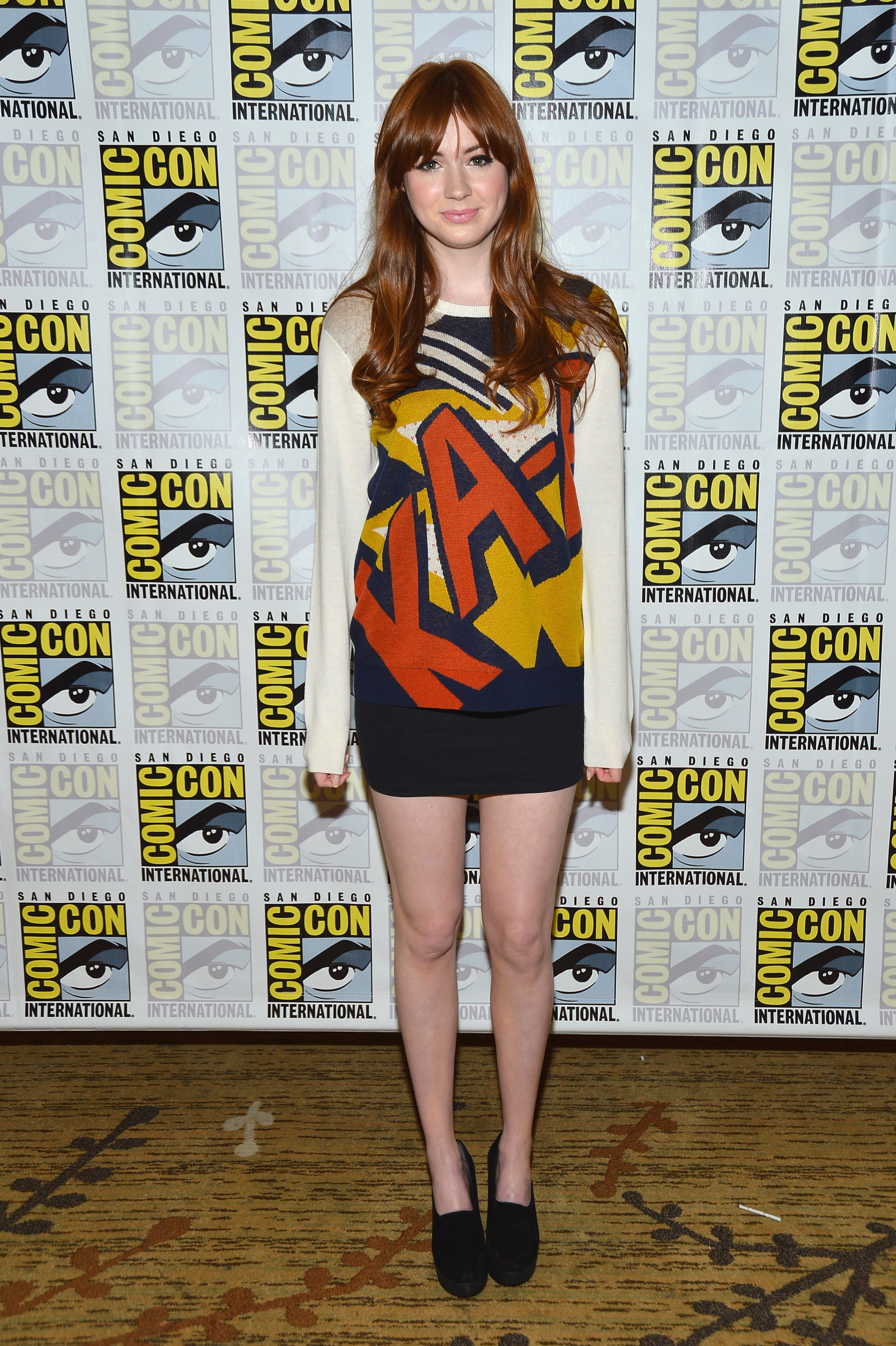 fug or fab karen gillan go fug yourself