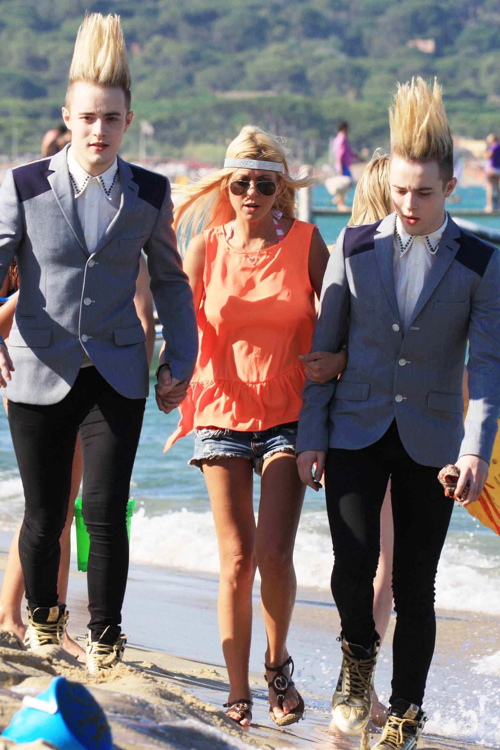 Jedward and Tara Reid