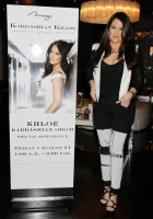 "Khloe Kardashian-Odom makes her first solo apperance at Kardashian Khaos inside the Mirage Hotel and Casino, to support her and husband Lamar Odom's perfume ""Unbreakable"", Las Vegas"