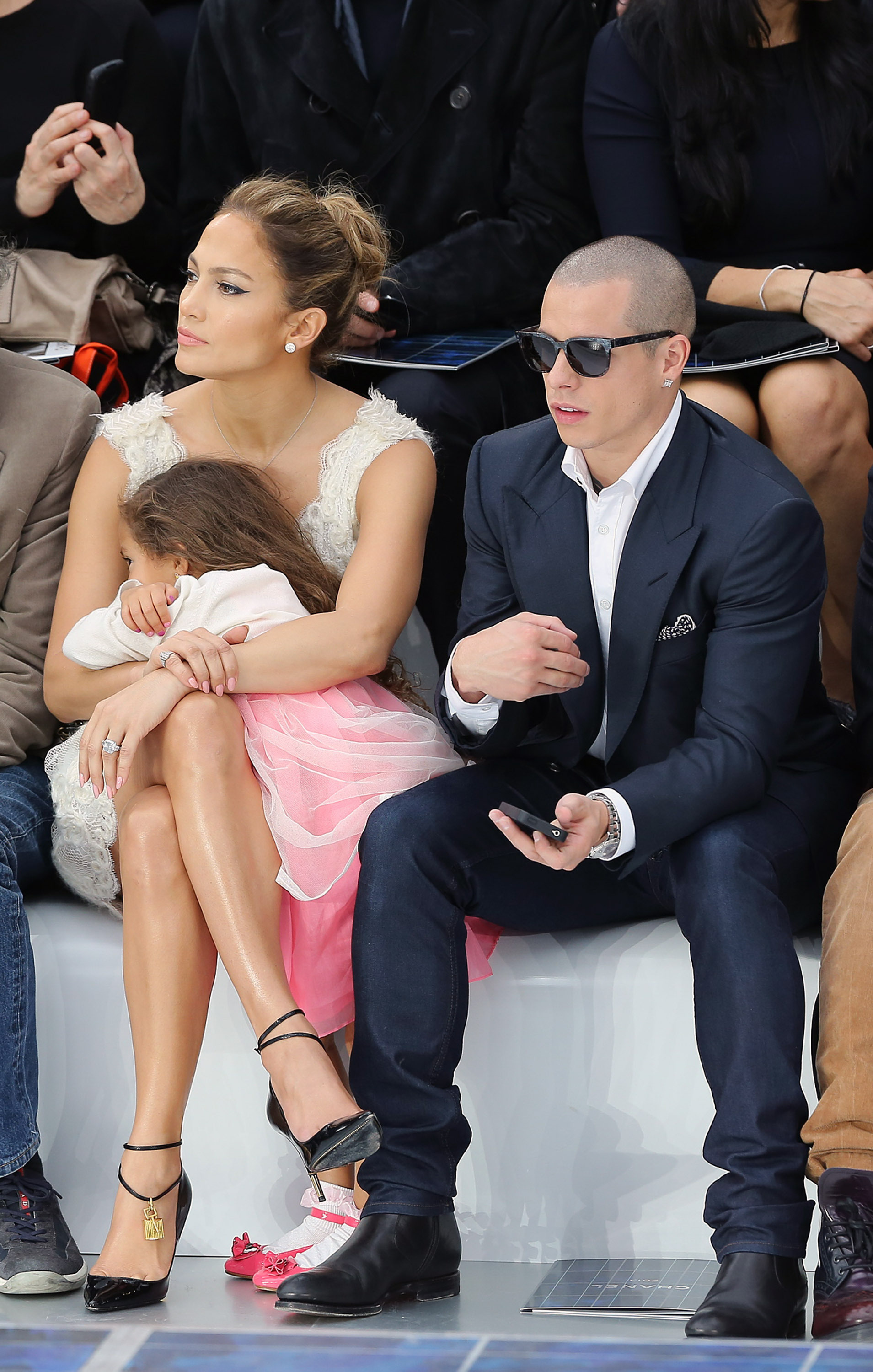 J.Lo, Emme Anthony, Casper Smart
