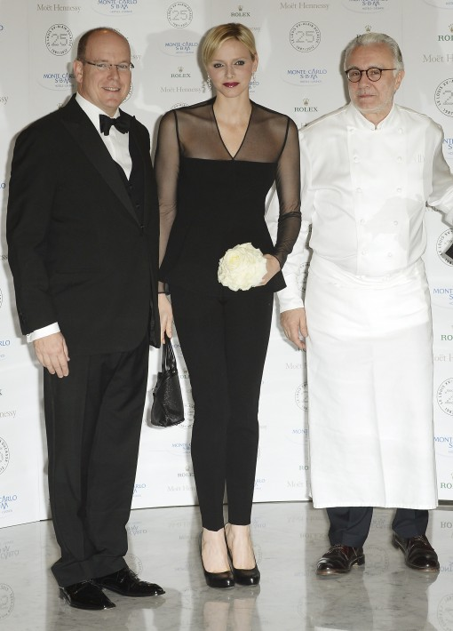 The 25th anniversary of Ducasse's restaurant