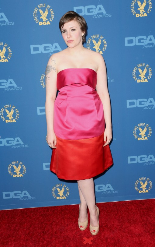 DGA Awards Fug or Fab: Lena Dunham