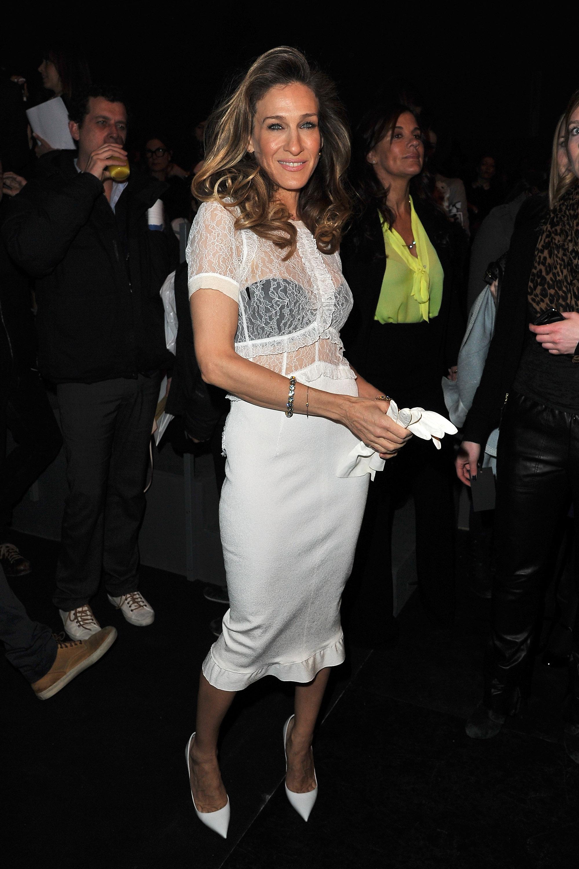 Louis Vuitton: Front Row - Paris Fashion Week Womenswear Fall/Winter 2012