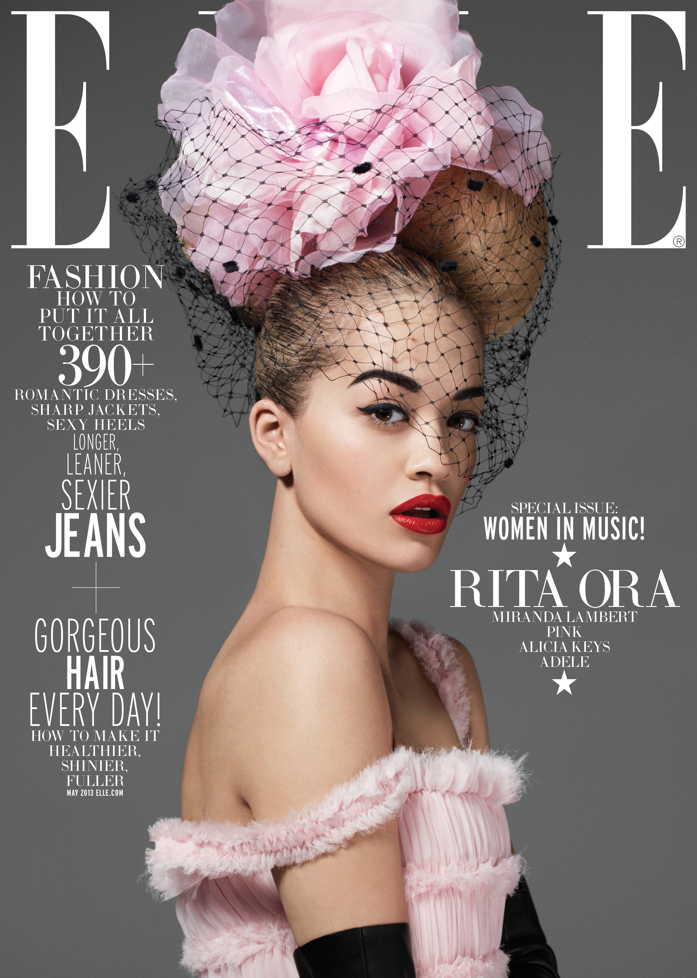 Fug or Fab the Covers: Rita Ora on Elle
