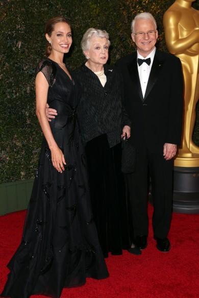 Angelina Jolie, Angela Lansbury, Steve Martin