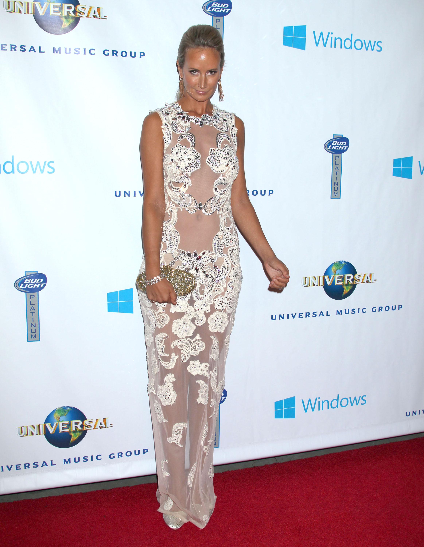 Grammy Party Naked-Off: Lady Victoria Hervey vs. Joanna Krupa