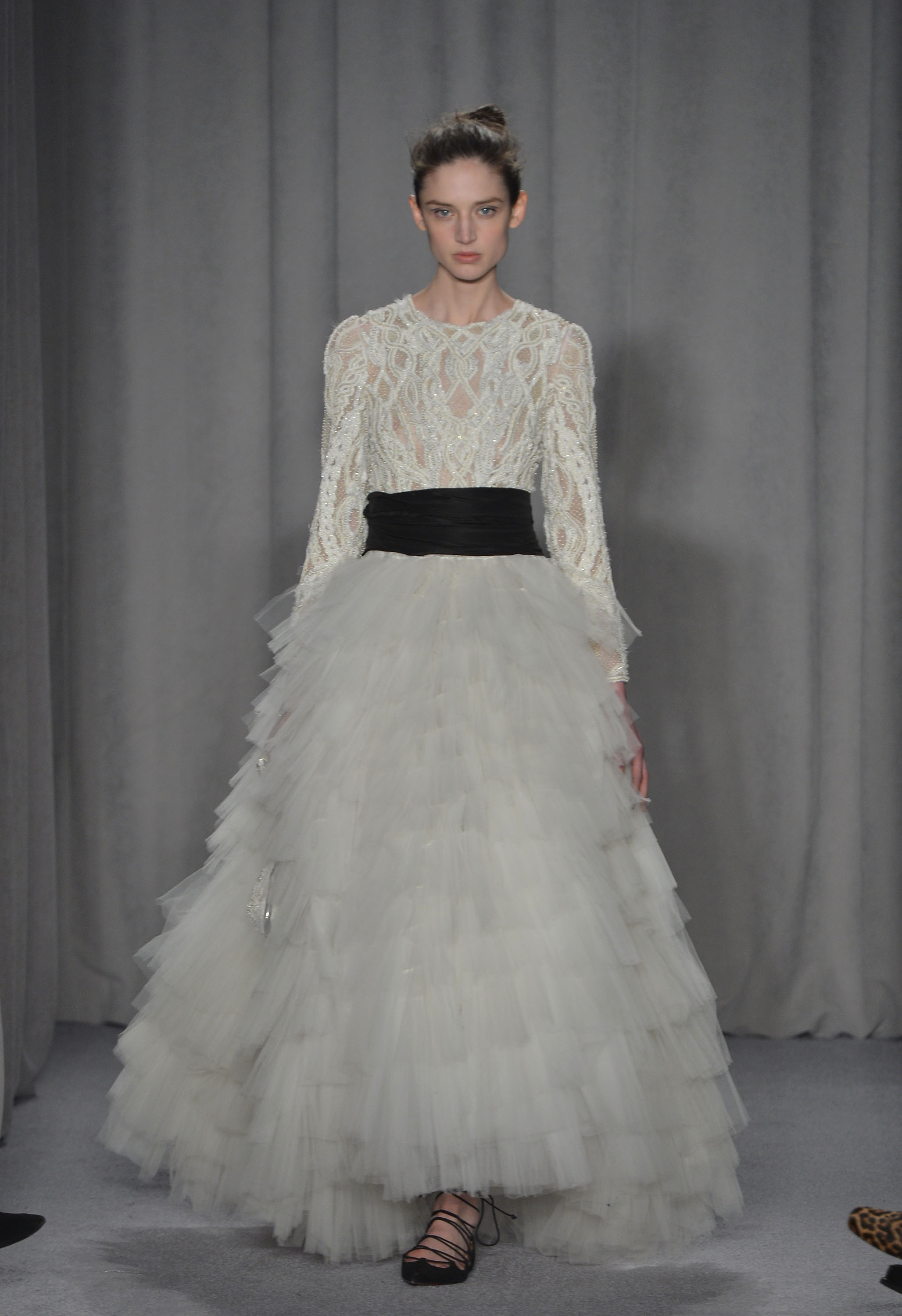 Marchesa - Runway - Mercedes-Benz Fashion Week Fall 2014