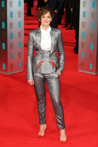 BAFTAs Fug or Fab Carpet: Ruth Wilson