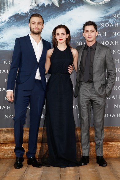 Well Played (Mostly): Douglas Booth, Emma Watson (in Wes Gordon) and Logan Lerman