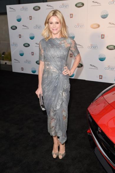 Runway vs. Real Fuggin' Life: Julie Bowen in Marchesa