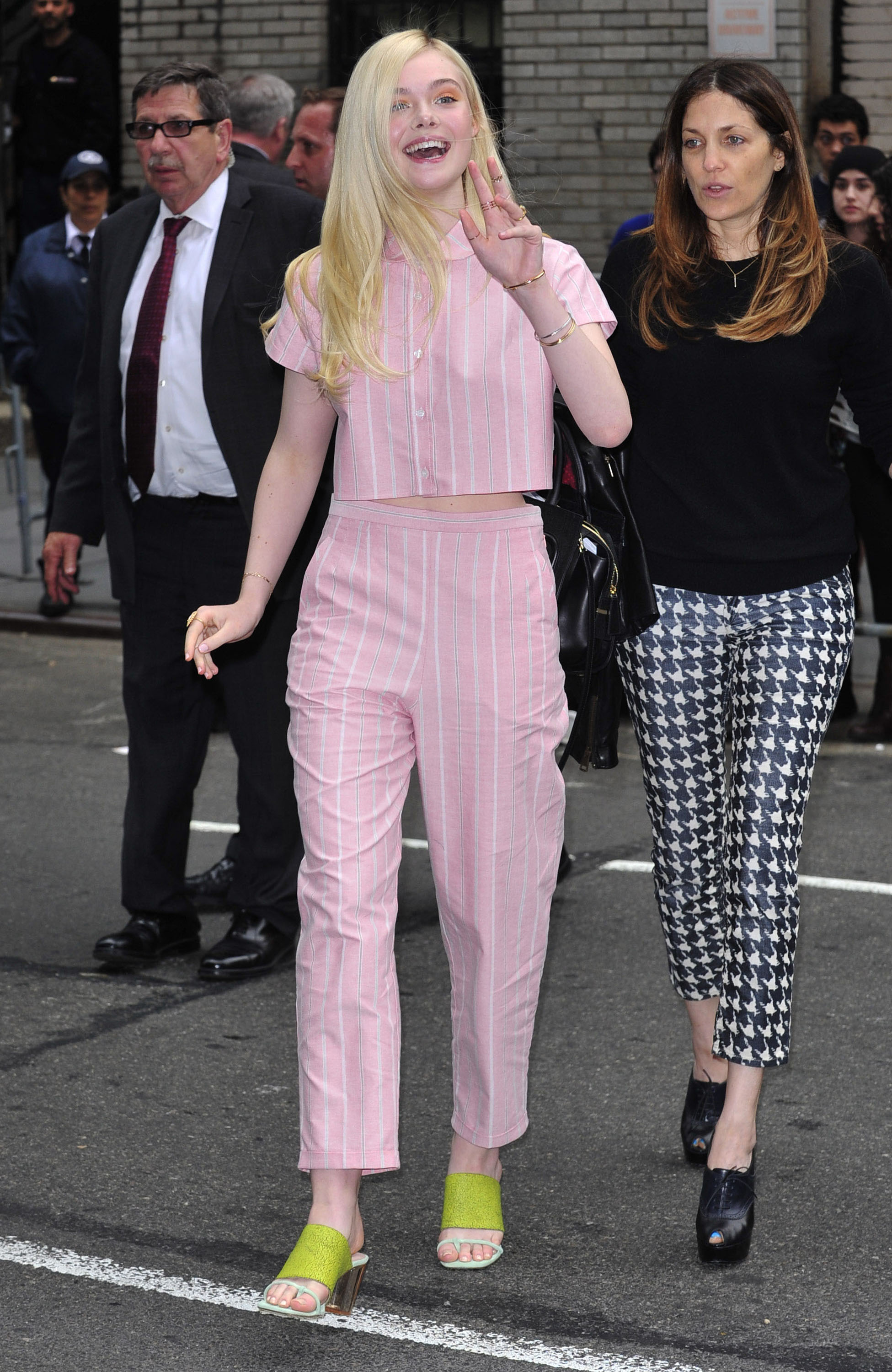 Fugleficent/Better Played: Elle Fanning at Letterman