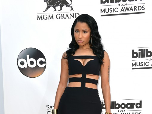 Billboard Music Awards Fug Carpet: Nicki Minaj in Alexander McQueen