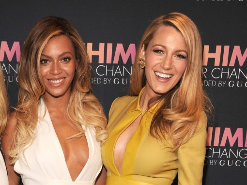 Cleavly Played: Beyonce and Blake Lively in Gucci