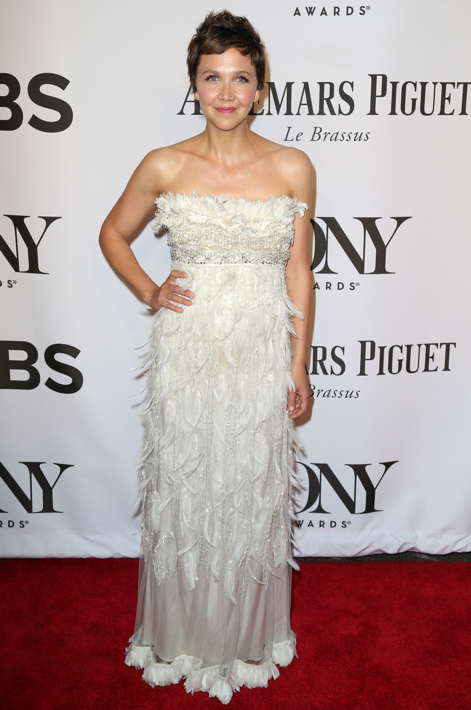 Tony Awards Fug Carpet: Maggie Gyllenhaal in Dolce & Gabbana