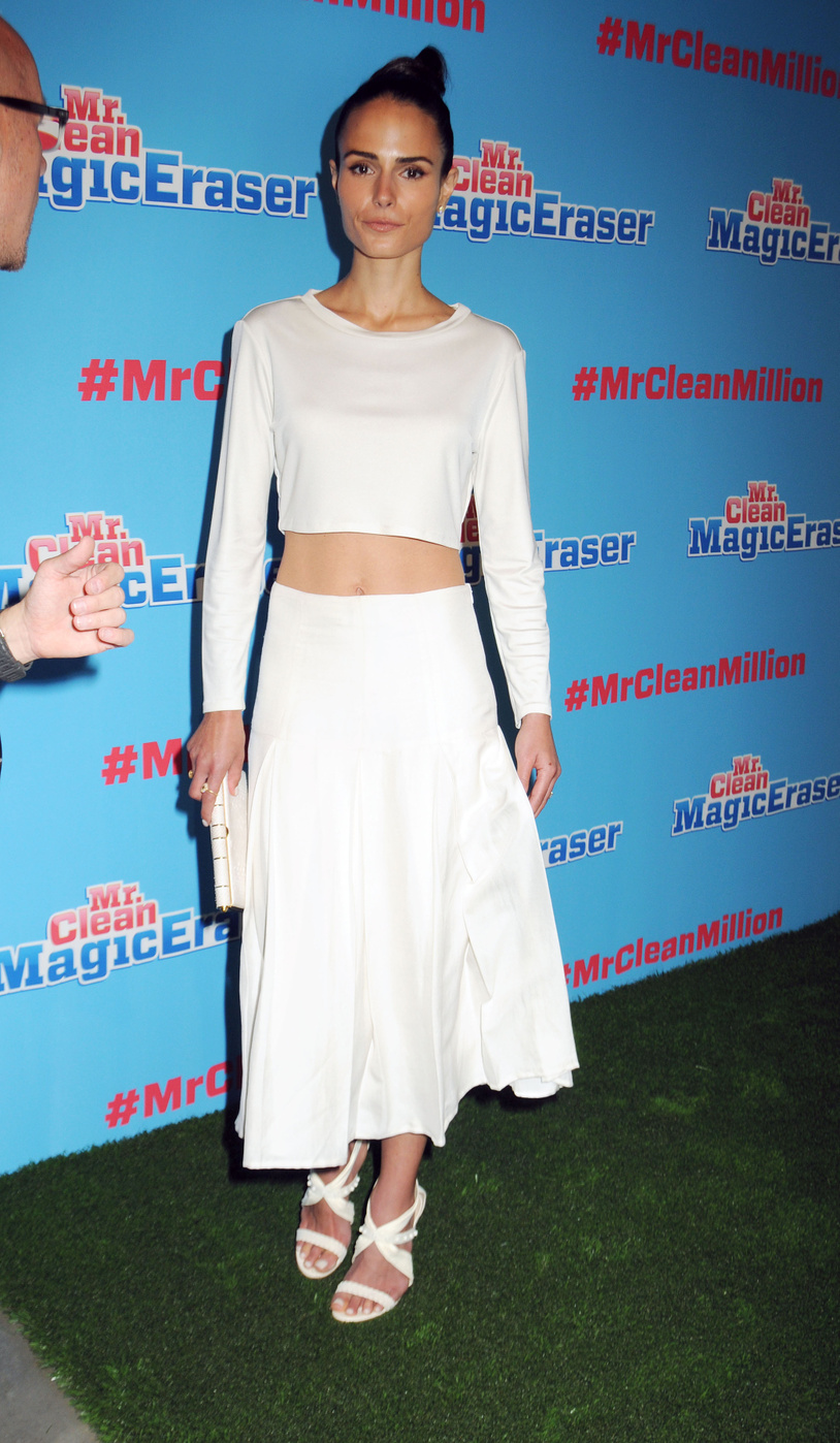 Jordana Brewster attends the Mr. Clean Summer Fashion Party at ROOT Drive-In in New York City