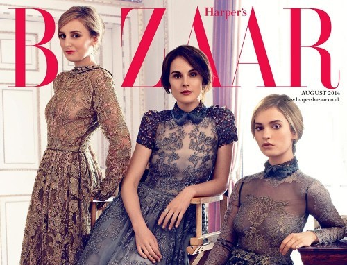 Well Played Covers: Downton Abbey on the Cover of Harper's Bazaar UK