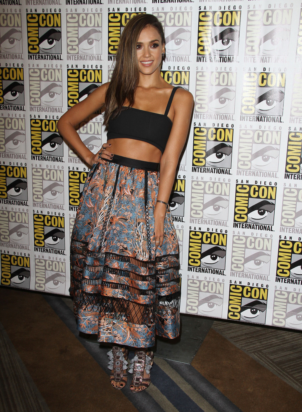 Fug or Fab: Jessica Alba in Tanya Taylor and Zimmerman at Comic-Con