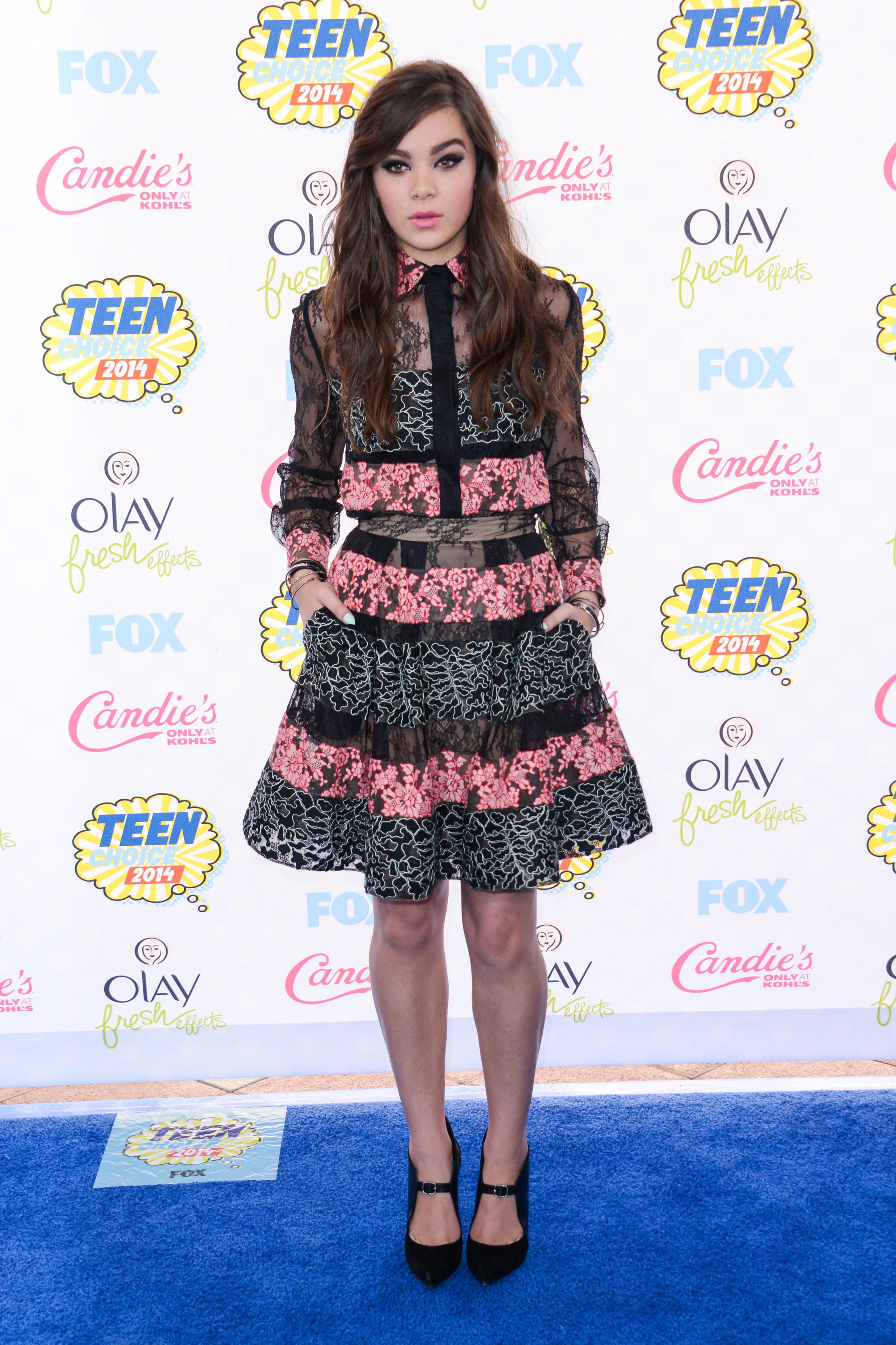 Stars attend the Teen Choice Awards **USA, Australia, New Zealand ONLY**