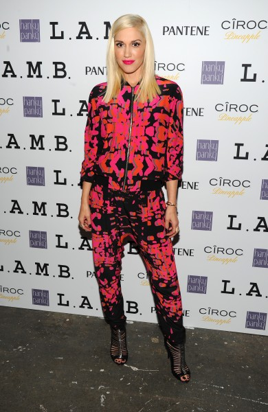 Gwen Stefani, L.A.M.B., Fashion Week
