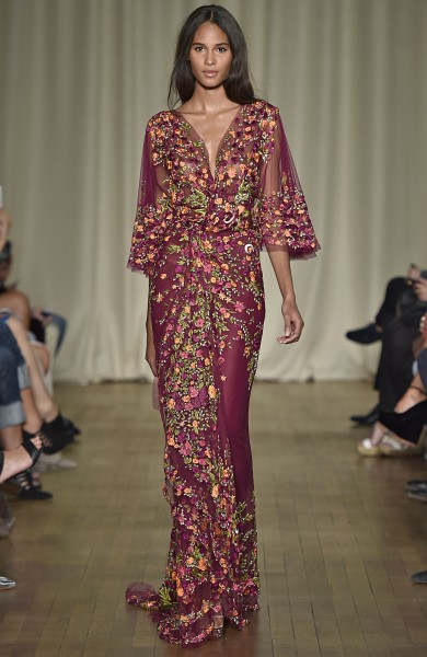 MarchesaLondon Fashion Week  Spring Summer 15 London September 2014