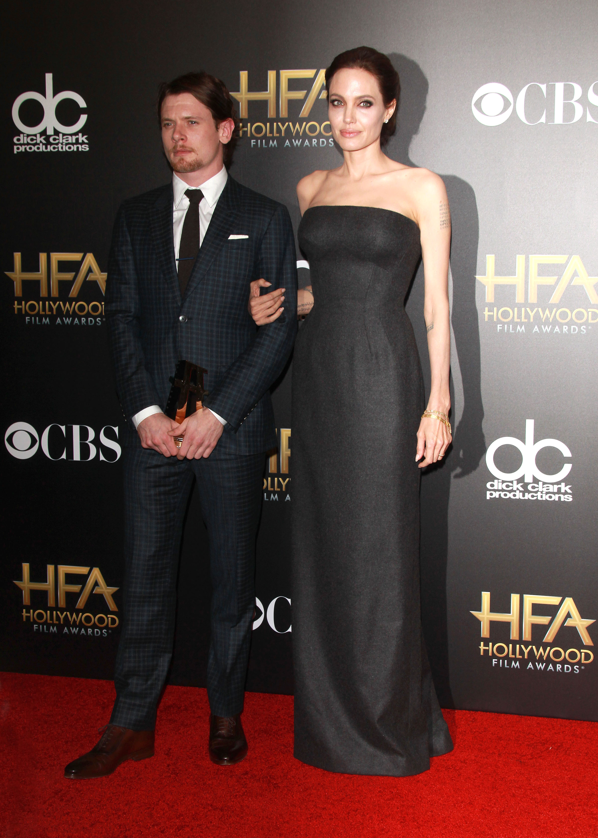 Hollywood Film Awards Fug or Fab: Angelina Jolie in Versace