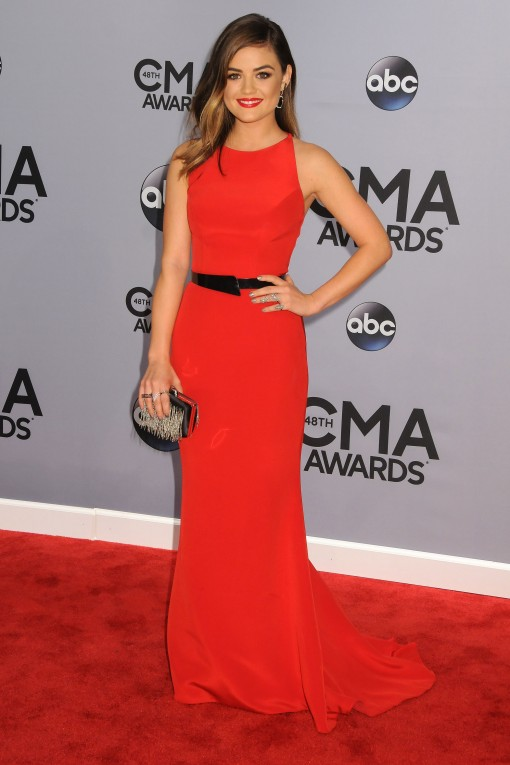 CMA Awards Well Played: Lucy Hale in Romona Keveza