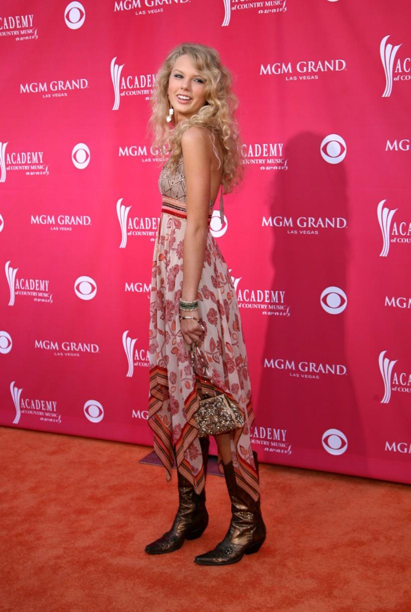Taylor Swift Fashion History